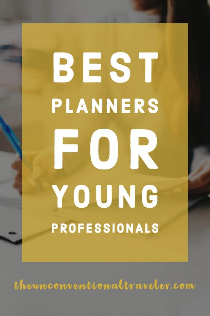 Best Planners for Young Professionals
