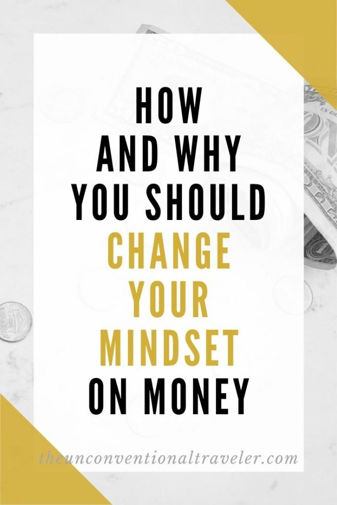 how and why you should change your mindset on money