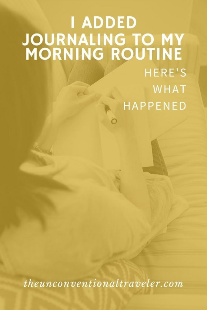 Morning-routine-journaling