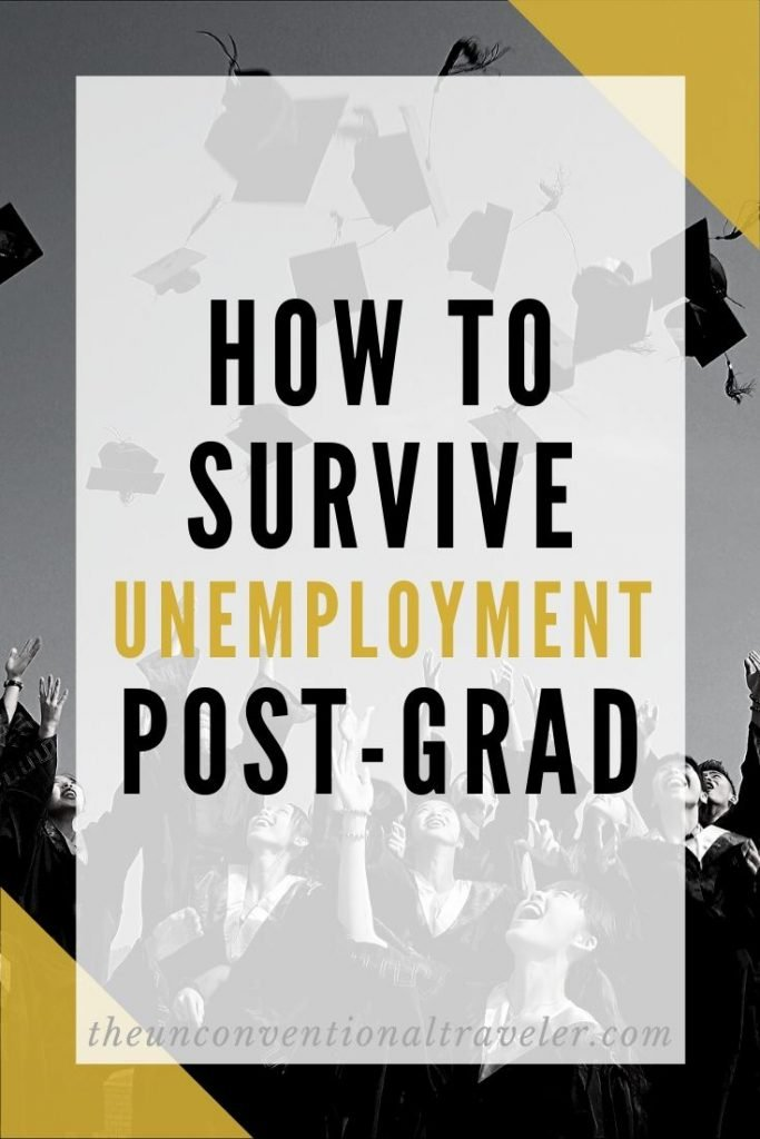 How to survive unemployment as a post-grad