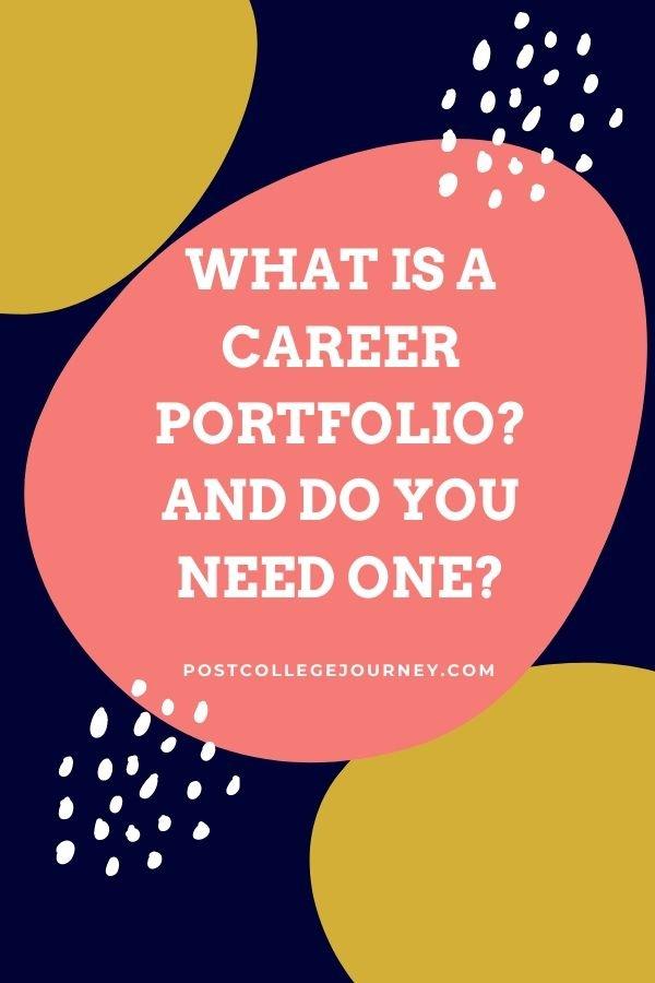 what-career-portfolio-101