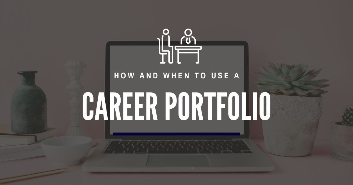 How and when to use a portfolio
