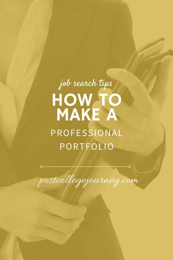 how-to-create-career-portfolio-pinterestimage